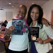 Yamma Brown at P.U.R.S.E. Foundation for Domestic Abuse