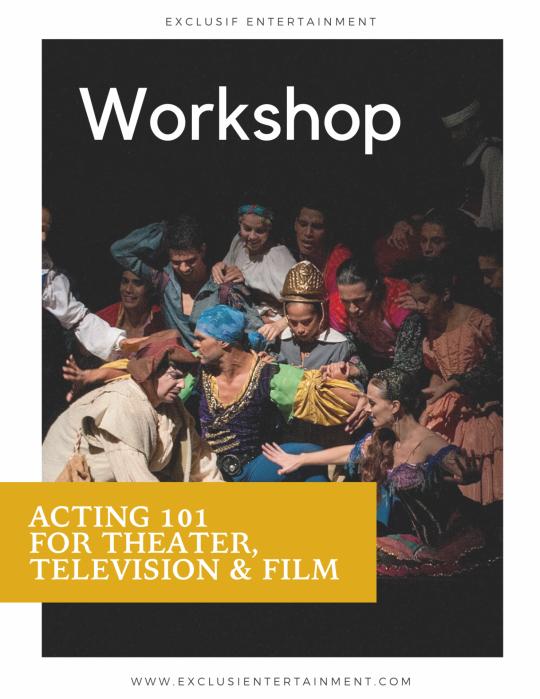 Acting 101 workshop 1