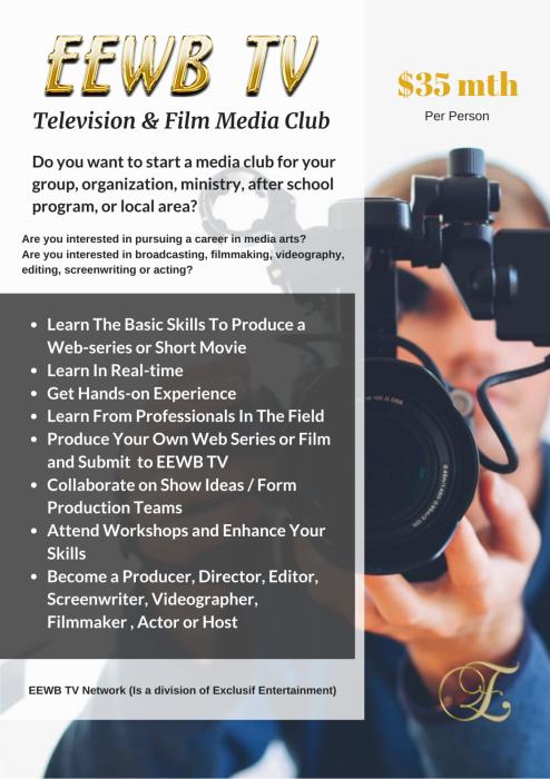 Eewb tv television film media club 1