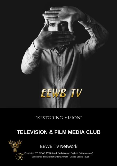 Eewb tv television film media club poster