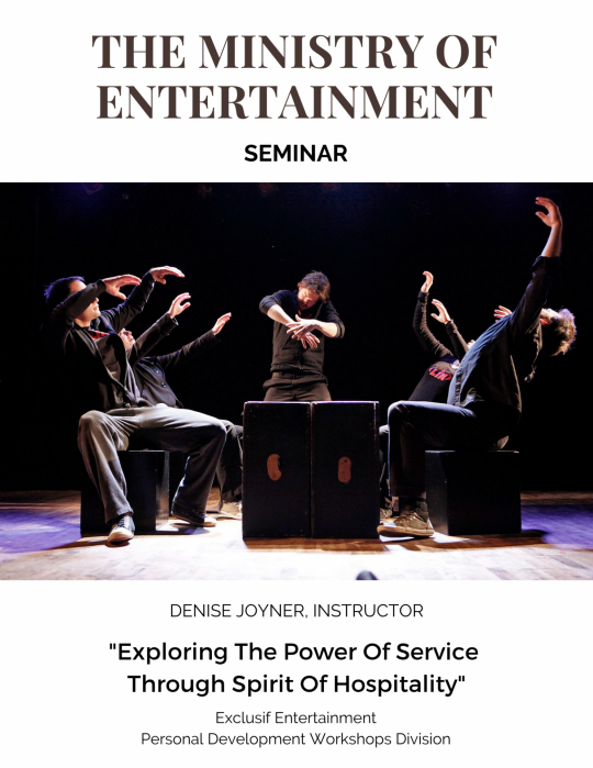 The ministry of entertainment cover