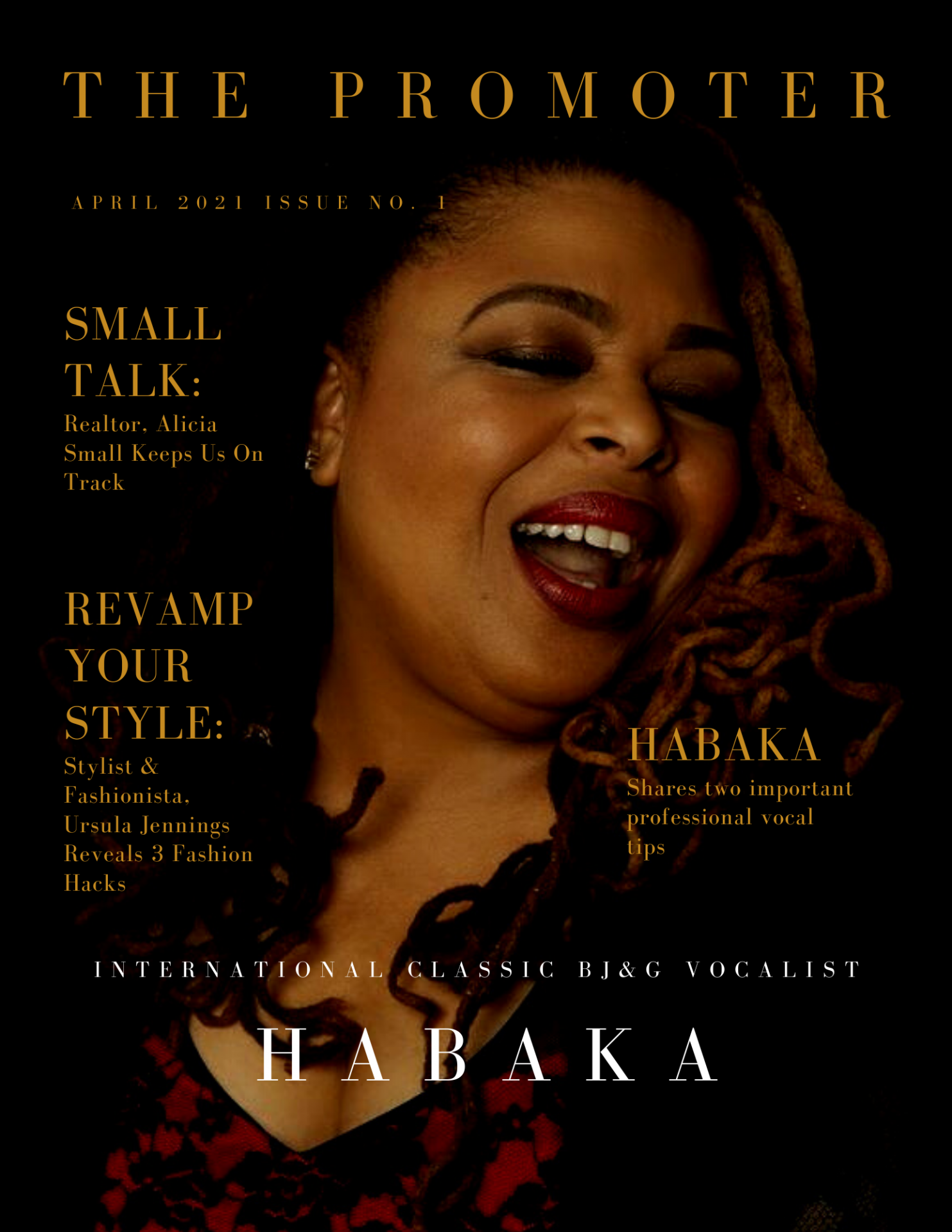 The promoter magazine cover april